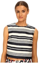 RED Valentino Striped Jacquard Top