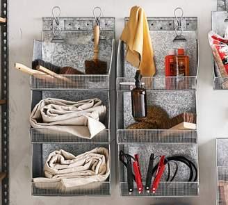 Pottery Barn Bryant System Organization, Three Tier Shelf Bins