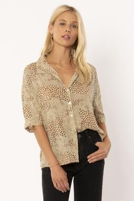 Amuse Society Wildcat Shirt - XS . | viscose | natural | Leo - Natural/Natural