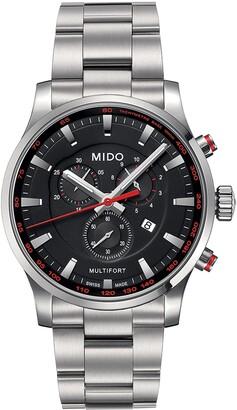 MIDO Multifort Chronograph Bracelet Watch, 42mm