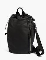 Lanvin Leather Messenger Bag