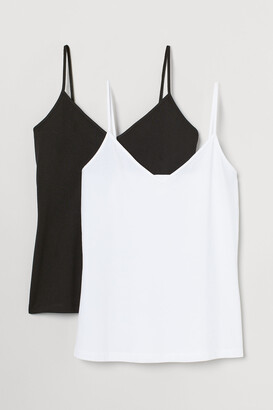 H&M 2-pack Cotton Tank Tops