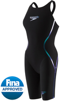 Speedo Women's LZR Racer X Closed Back Kneeskin Tech Suit Swimsuit 8130206