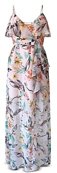 BCBGeneration Aloha Floral Maxi Dress