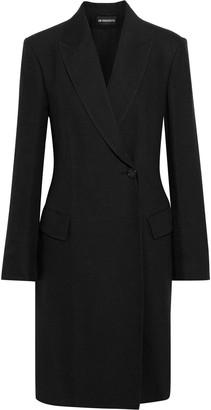 Ann Demeulemeester Wool And Linen-blend Coat