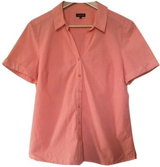 Jaeger Orange Cotton Top for Women