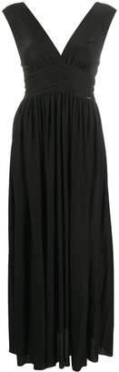 Liu Jo V-neck ruched waistband dress