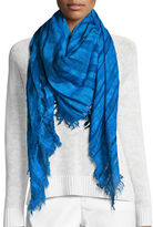 Eileen Fisher Maltinto Striped Organic Cotton Scarf