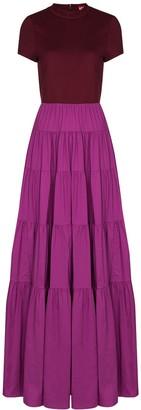 STAUD Tiered Maxi Dress