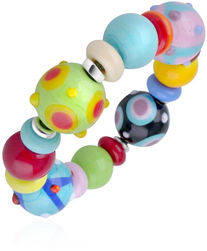 Murano Antica Murrina Ipanema - Multicolor Glass Bead Bracelet