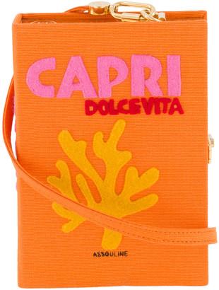 Olympia Le-Tan Olympia Le Tan Capri Strapped Book Clutch Bag