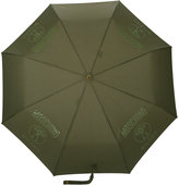 Moschino logo print umbrella - unisex - Polyester - One Size