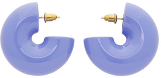 Uncommon Matters Purple Beam Earrings