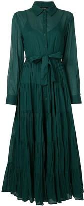Mes Demoiselles Flared Shirt Dress