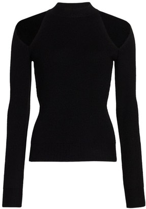 Monse Cold Shoulder Knit Sweater