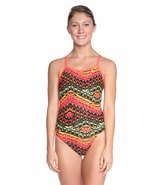 Nike Swim Electric Rio Classic Lingerie Tank One Piece Swimsuit 8114700