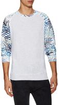 Eleven Paris Poxer Printed Crewneck Sweatshirt