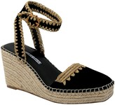 Charles by Charles David Charles David Leather Ankle Strap Espadrill Wedges - Global