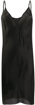 Rick Owens V-Neck Slip Dress