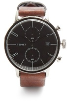 Tsovet JPT-CC38 leather watch