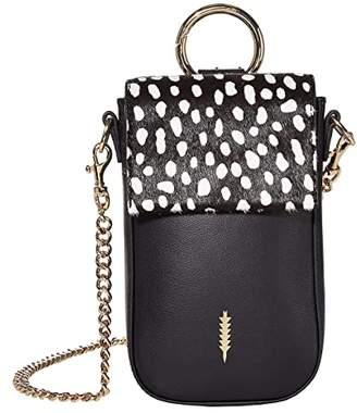 THACKER Farrow Phone Crossbody (Black/Spotted) Handbags