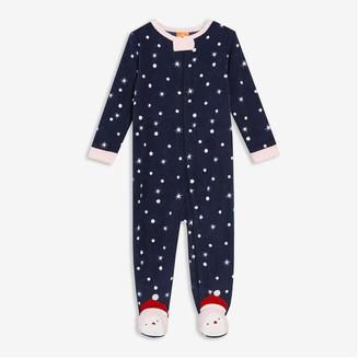 Joe Fresh Baby Girls' Fleece Sleeper, Light Pink (Size 12-18)