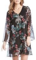 Karen Kane Women's Bell Sleeve A-Line Dress