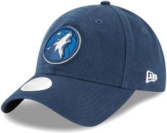 New Era Women's Blue Minnesota Timberwolves Core Classic 9TWENTY Adjustable Hat