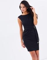 Lipsy Tie Wrap Body-Con Dress