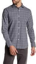 Slate & Stone Long Sleeve Check Trim Fit Shirt