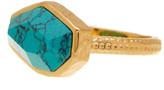 Melinda Maria Slice Turquoise Ring - Size 7