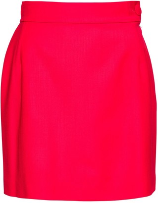 ATTICO Wool Miniskirt