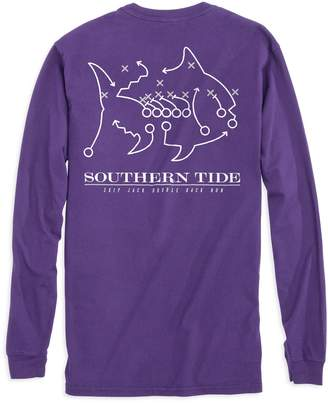 Southern Tide TCU Horned Frogs Skipjack Long Sleeve T-Shirt