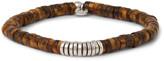 Tateossian - Tiger's Eye And Silver Bead Bracelet