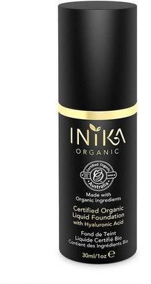 Inika Certified Organic Liquid Mineral Foundation With Hyaluronic Acid 30Ml Nl2 Cream (Light, Neutral)