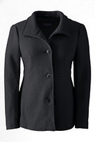 Lands' End Women's Boiled Wool Jacket-Vicuna