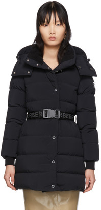 Burberry Black Down Eppingham Coat