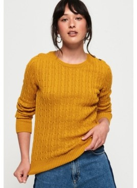Superdry Croyde Cable Knit Pullover Sweater