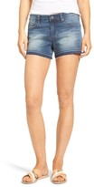 Articles of Society Women's Zina Release Hem Denim Shorts