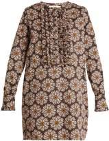 LA DOUBLEJ EDITIONS The Tuxedo cotton-blend mini dress