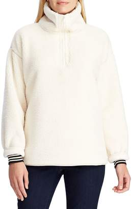 Chaps Hasley Mock Neck Sweater