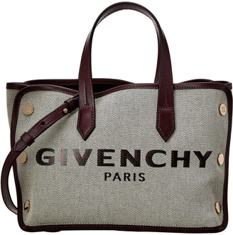 Givenchy Mini Bond Canvas & Leather Tote