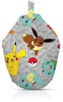 "Pokemon Catch"" Kids Bean Bag, Cotton, Multi-Colour"