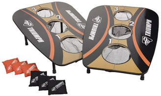Triumph 3-Hole Foldable Outdoor Bag Toss Game Includes 6 Durable Square Bean Bags