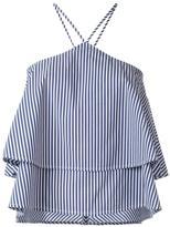 Dondup striped top - women - Cotton/Nylon/Spandex/Elastane - 38