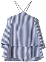 Dondup striped top - women - Cotton/Nylon/Spandex/Elastane - 44
