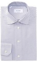 Eton Check Contemporary Fit Dress Shirt