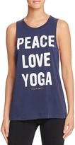 Spiritual Gangster Peace Love Yoga Muscle Tank