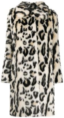 Urban Code Animal Fur Coat