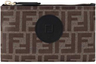 Fendi FF Fabric Medium Wallet